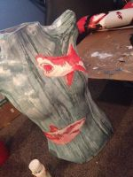 Shark Torso (WIP) by DragonSmurf