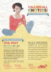 Knitting Poster Design by kateyparr
