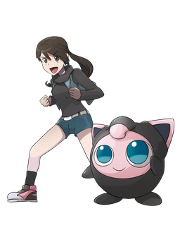 COMMISSION: Trainer and Jigglypuff by mark331