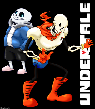 UNDERTALE: Papyrus And Sans by MamaGizzy