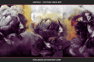TEXTURE PACK #07 - unfold by psdlands