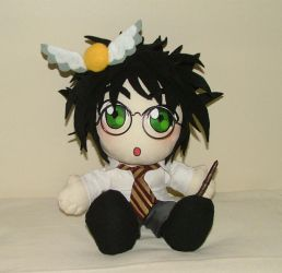 Harry Potter Plushie by Kinky-chichi