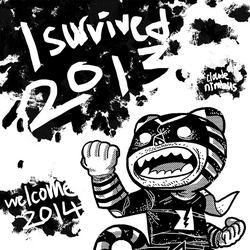 I survived 2013 Welcome 2014 by nimbusnymbus