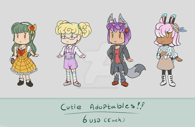 Cutie Adoptables! [ OPEN ] by LadyVentuswill