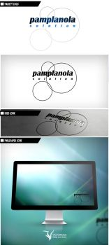 Logo: Pamplanola Solution by VictoriousD