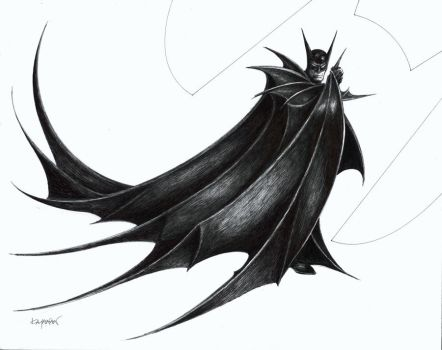 BATMAN INK by SunHelmet