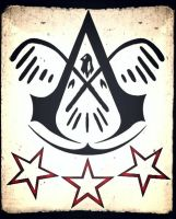 Assassins creed 3 custom symbol by Eddmspy
