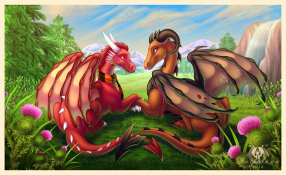 Just the Two of Us by DolphyDolphiana