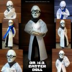 Handplates - W.D. Gaster poseable Doll by InnocentiaSanguinis