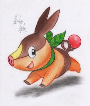Tepig by ChristARG