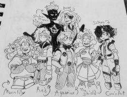 (TT OC) Group Shot by CocoCabanna