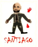 A *cringey* drawing: Pamtri's Santiago(Read Desc.) by W1RM1999