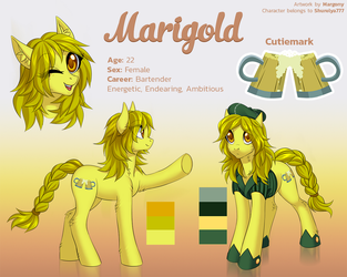 Marigold reference commission by Margony