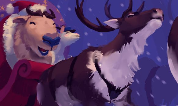merry goatmas by texahol