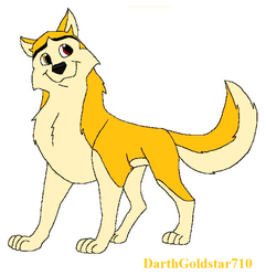 Balto OC: Thunderbolt by DarthGoldstar710