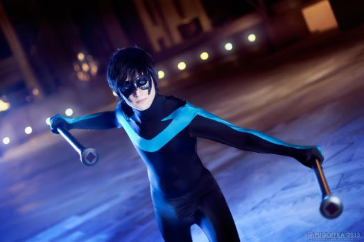 Nightwing - DC Comics by Pugoffka-sama