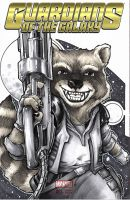 Rocket Racoon by DKHindelang
