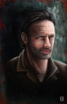 Rick Grimes by AngeloQuintero