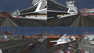 DOA5 Stage Cruise Terminal by rolance