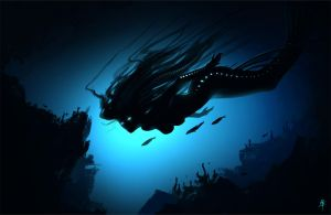 DeepSea Mermaid Spitpaint by rob-powell