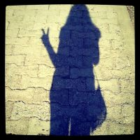 victory at taking shadow pics by littlebluewildfire