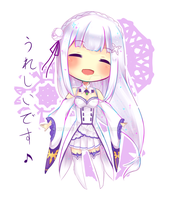 Emilia-tan by kisagi1317