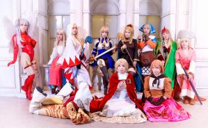 White Mage cosplay from FFT by mayuyu0405