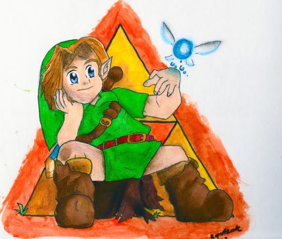 Young Link by RupertRock