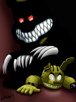 Sit on Springtrap 1: Comfy? by Negaduck9