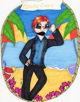 Horatio Caine by DragonAllons-y