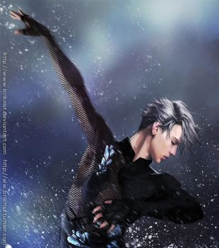 Viktor Nikiforov paint 1 by Brilcrist