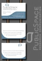 Public Space Business Card by Genesis2Revolution