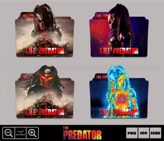 The Predator (2018) Folder Icon Pack by Bl4CKSL4YER