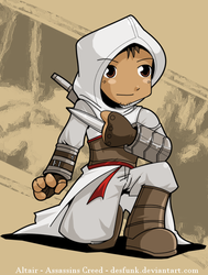 Altair - too cute to kill by desfunk