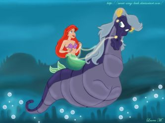 Ariel and Stormy by Sweet-Amy-Leah