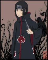Itachi no Amaterasu by Zerucune
