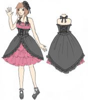 Contest entry dress design by chocolatehomicide