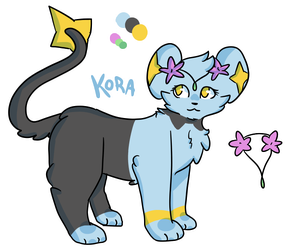 Shinx OC- Kora by ThatCreativeCat
