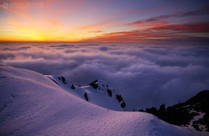 Over the clouds III by adypetrisor