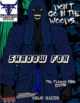 Shadow Fox - Terror King variant cover by KyuushinArtist
