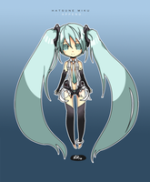 Miku Append by Belindraw