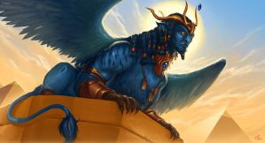 Vexing Pharaoh by Steamhat