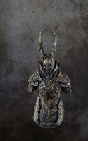 Dark Souls Black Knight mini bust by futantshadow
