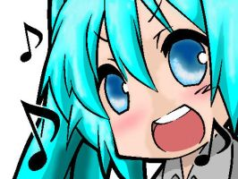 Sing Your Heart out - Miku by Jocossie