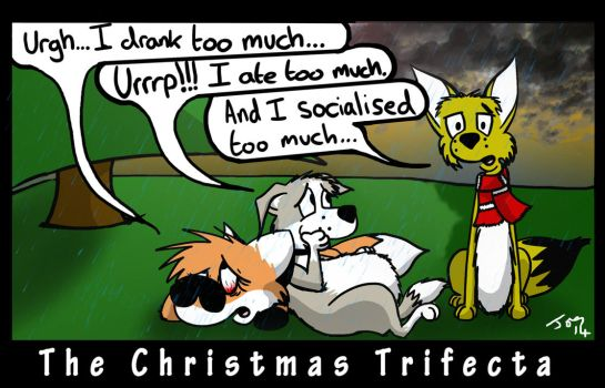 The Christmas Trifecta by Whatupwidat