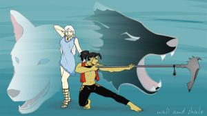 Shale and Nali Contest Entry by GlowingMember