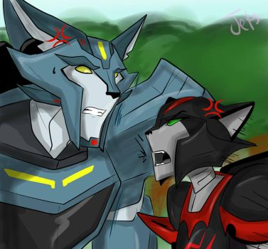 Transformers RiD ::Cats and Dogs:: by LittleSis5