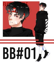 [ CLOSED OTA | BB series #01 ] Supreme Bad Boi by fluffypepole