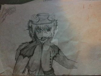 W.I.P - The Madling Child *(Mad Hatter)Traditional by WonderlandTrades