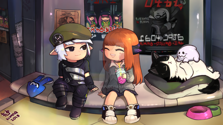 Splatoon Com by artmunnn